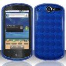 TPU Crystal Gel Case for Huawei Impulse 4G (T-Mobile) - Blue