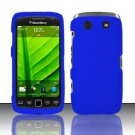 Hard Rubber Feel Plastic Case for Blackberry Torch 9850/9860 - Blue