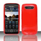 TPU Crystal Gel Case for Blackberry Torch 9850/9860 - Red