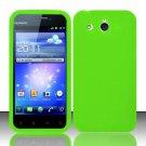 Soft Premium Silicone Case for Huawei Mercury M886 (Cricket) - Green