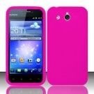 Soft Premium Silicone Case for Huawei Mercury M886 (Cricket) - Pink