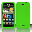 Soft Premium Silicone Case for LG Viper 4G LTE/Connect 4G (Sprint/MetroPCS) - Green