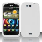Soft Premium Silicone Case for LG Viper 4G LTE/Connect 4G (Sprint/MetroPCS) - White