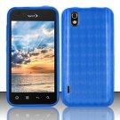 TPU Crystal Gel Case for LG Marquee LS855/Optimus Black (Sprint/Boost) - Blue
