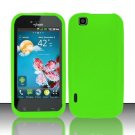 Soft Premium Silicone Case for LG myTouch LU9400 (T-Mobile) - Green