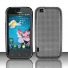 TPU Crystal Gel Case for LG myTouch LU9400 (T-Mobile) - Smoke