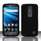 Hard Rubber Feel Plastic Case for LG Nitro HD P930/P960 (AT&T) - Black