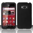 Soft Premium Silicone Case for LG Optimus Elite LS696 (Sprint) - Black