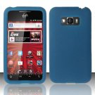 Soft Premium Silicone Case for LG Optimus Elite LS696 (Sprint) - Blue