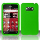 Soft Premium Silicone Case for LG Optimus Elite LS696 (Sprint) - Green