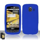 Soft Premium Silicone Case for LG Optimus S/U/V - Blue