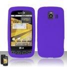 Soft Premium Silicone Case for LG Optimus S/U/V - Purple