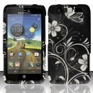 Hard Rubber Feel Design Case for Motorola Atrix HD 4G LTE MB886 (AT&T) - Midnight Garden