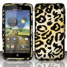 Hard Rubber Feel Design Case for Motorola Atrix HD 4G LTE MB886 (AT&T) - Cheetah