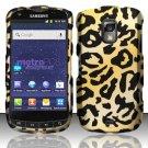 Hard Rubber Feel Design Case for Samsung Galaxy S Lightray 4G R940 (MetroPCS) - Cheetah