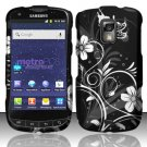 Hard Rubber Feel Design Case for Samsung Galaxy S Lightray 4G R940 (MetroPCS) - Midnight Garden