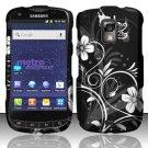 Hard Rubber Feel Design Case for Samsung Galaxy S Lightray 4G R940 (MetroPCS) - Midnight Garden
