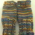 Another variegated fingerless glove