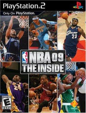 Playstation 2 NBA 09 he inside