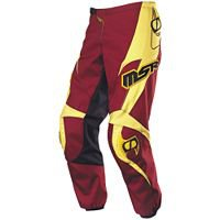 MSR Axis motocross race pants size 26 color yellow and brown