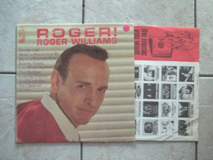 Roger Williams Roger! 1967 Kapp KS 1512 Mono Vinyl LP