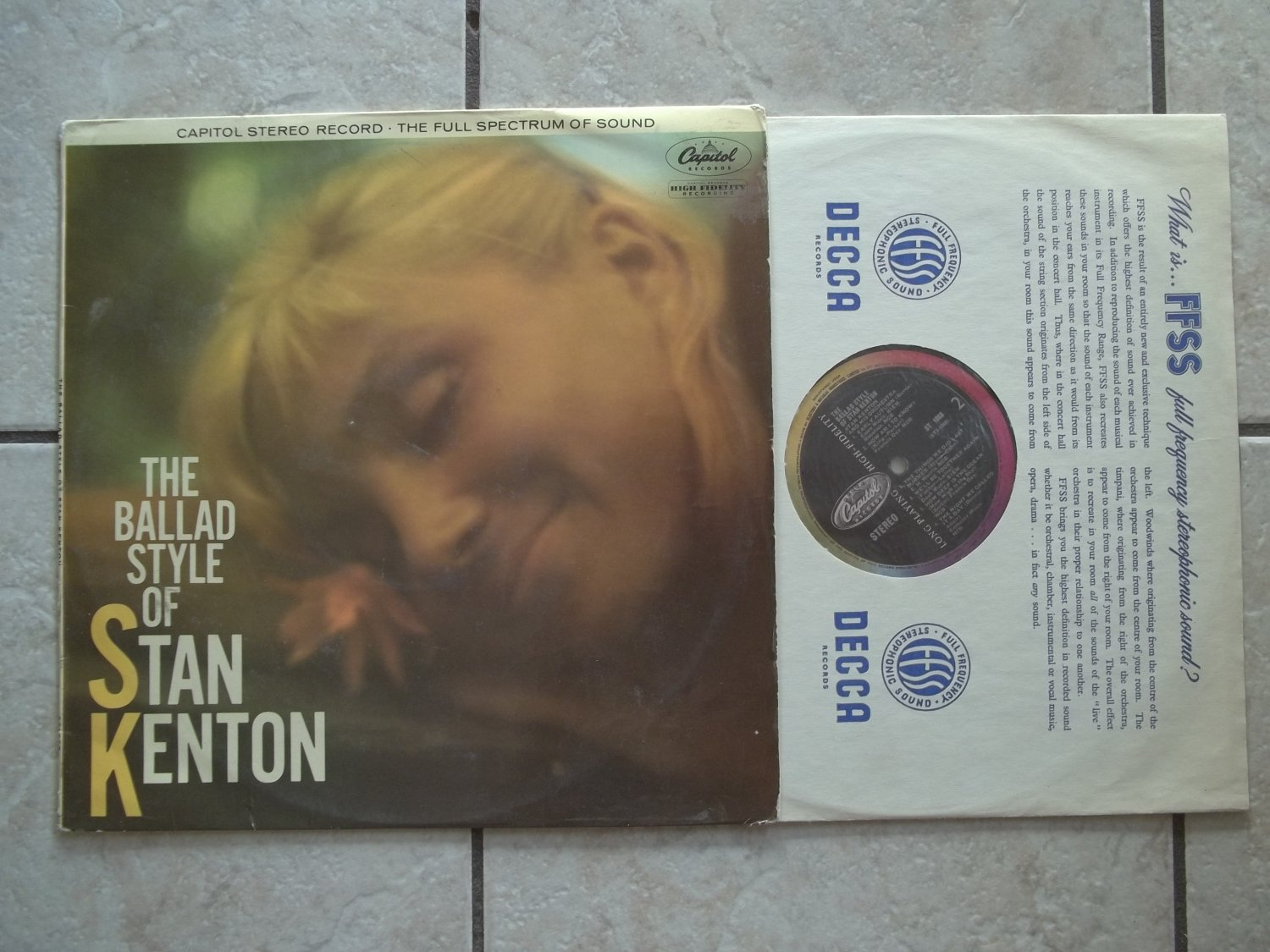 Stan Kenton The Ballad Style Of Stan Kenton LP / ST