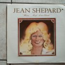 JEAN SHEPARD VINYL RECORD LP MERCY AIN'T LOVE GOOD UA UA-LA 609-G