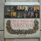 Great songs of Christmas album four 1964 Various artists Goodyear limited ed