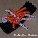 Halloween Korker Bow Crochet Headband