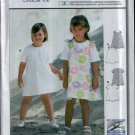 Childern's Dress Pattern Uncut. Sizes: 2, 3, 4, 5, 6, 7, 8, Burda 9986
