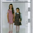 Childern's Dress Pattern Uncut. Sizes: 6, 7, 8, 9, 10, 11, 12, 13jun, 14jun Burda 9777