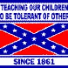 TEACHING OUR CHILDREN BUMPER STICKER