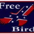 FREE BIRD BUMPER STICKER