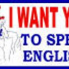 UNCLE SAM BUMPER STICKER