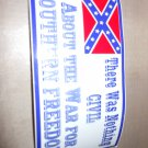 CIVIL WAR BUMPER STICKER
