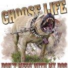 CHOOSE LIFE PIT T-SHIRT LARGE