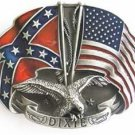 REBEL USA BELT BUCKLE