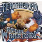 FEATHERED WARRIORS 2X WHITE T-SHIRT