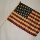 "USA 12""X18"" STICK FLAG"