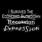 DEPRESSION T-SHIRT BLACK LARGE