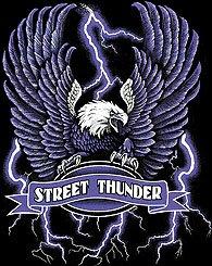 STREET THUNDER T-SHIRT BLACK SMALL