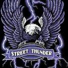 STREET THUNDER T-SHIRT BLACK MEDIUM