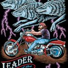 LEADER OF THE PACK T-SHIRT BLACK X-LARGE