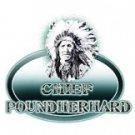 pounderharder t-shirt  ash gray large