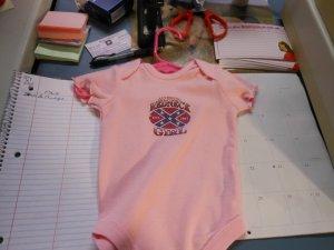 rebel girl onesies 12 month