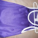 plain  purple basket ball jersery
