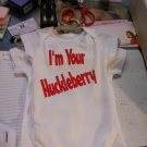 im your huckle berry onesies 3/6month