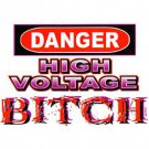 dange high voltage t-shirt meduim