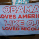 OBAMA LOVE T-SHIRT SMALL