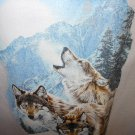 HOWLING WOLF T-SHIRT SMALL